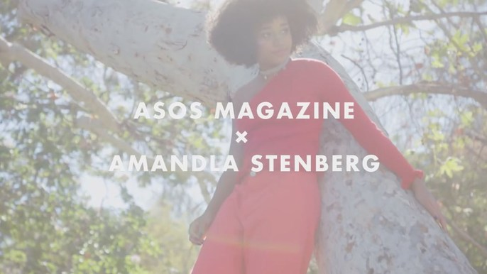 ASOS with Amandla Stenberg