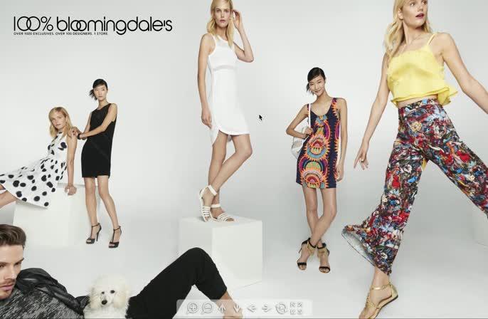 Bloomingdales 100% 360 Campaign